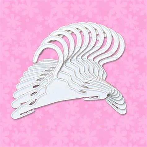 doll clothes hangers set of 4 fits 18 inch american doll hangers set of 10 plastic hangers fits 18 inch