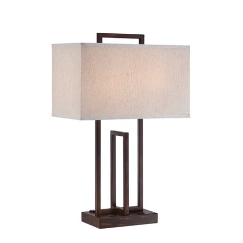 Lite Source Table L Lite Source Farren 2 Light Table L In Bronze Ls 22542
