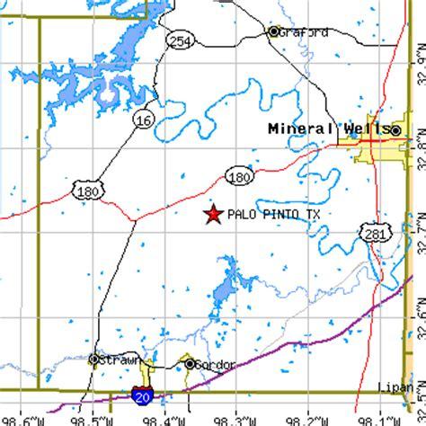 santo texas map palo pinto texas tx population data races housing economy