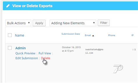 Delete Records Browsing Exports And Performing Some Sql Operations Sql Operations