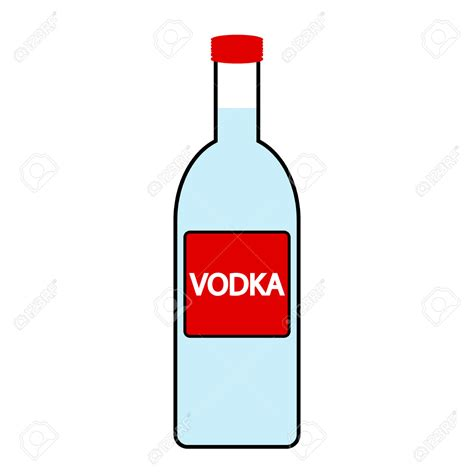 cartoon alcohol bottle vodka clipart clipground