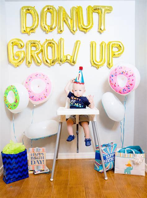 Donut Grow Up  Ee  St Ee    Ee  Birthday Ee    Ee  Party Ee   Friday Were In Love