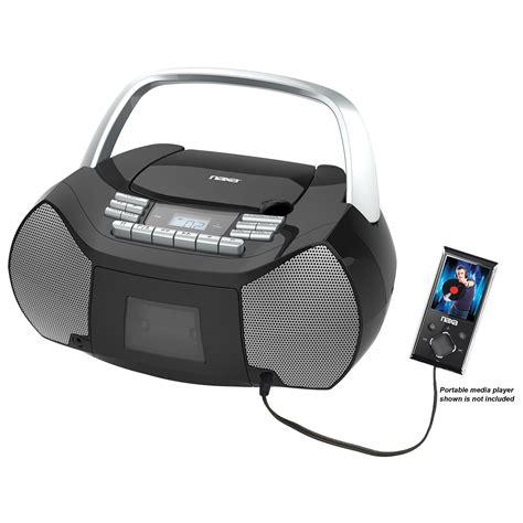 best portable boombox cd player boombox kmart