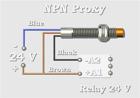 npn proximity sensor wiring diagram wiring diagram with