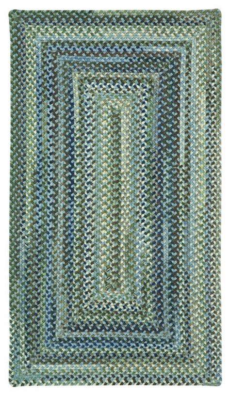 square braided rug braided manchester square 5 6 quot square light blue area rug contemporary area rugs by rugpal