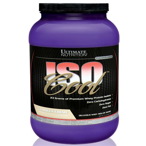 Whey Iso Cool isocool 907g 2lbs ultimate nutrition