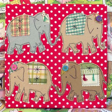Elephant Applique Quilt Pattern by Top 25 Best Elephant Applique Ideas On