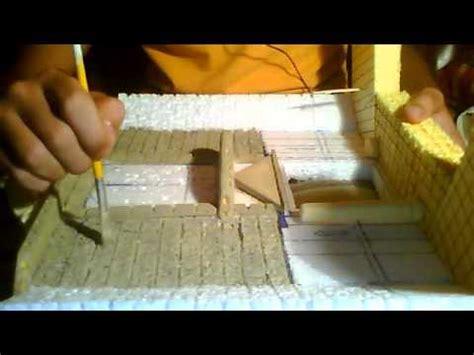 como hacer un pesebres imgenes parte 1 pintado de palacio para el belen youtube