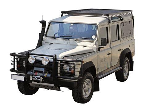 Defender Rack by Land Rover Defender 110 3 4 Roof Rack Front Runner