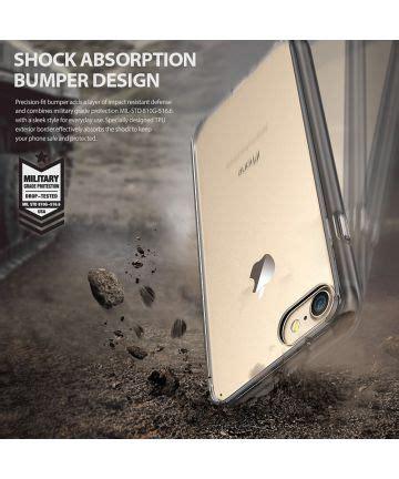 Ringke Iphone 7 Fusion Smoke Black Berkualitas ringke fusion iphone 7 8 hoesje doorzichtig smoke black gsmpunt nl