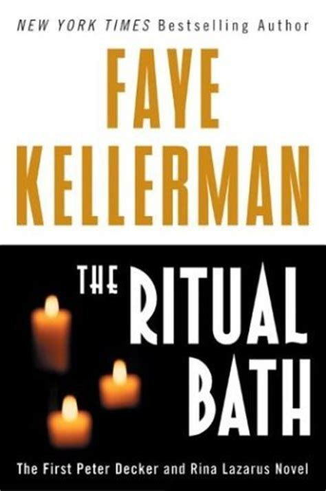 novel decke the ritual bath decker rina lazarus 1 by