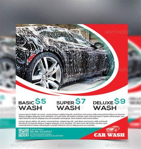 Car Wash Flyer Templates Microsoft