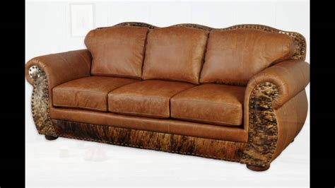 full leather couches full grain leather sofa youtube