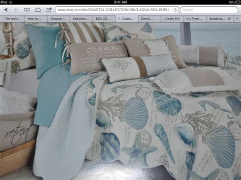 gorgeous seashell bedding by coastal collection bought