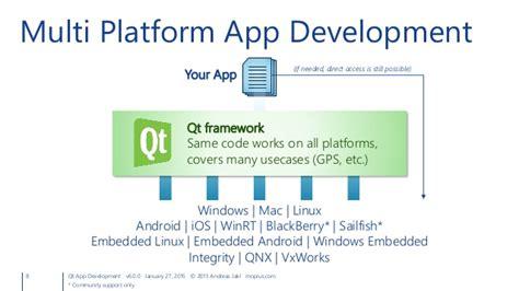 qt programming for android qt app development cross platform development for