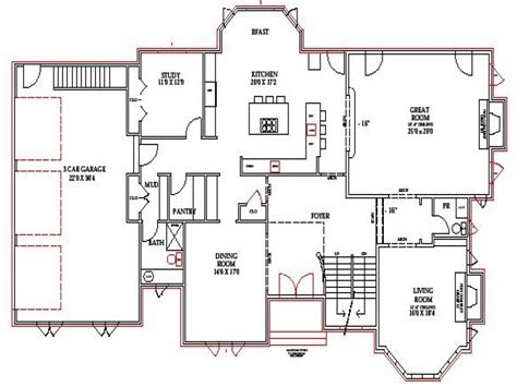 walkout basement floor plans lake home floor plans lake house plans walkout basement