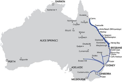 australia east coast map east coast road trip travelling in australia