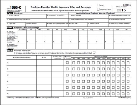 Act Reporting Template