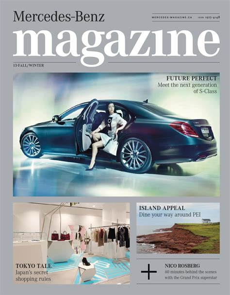 mercedes magazine mercedes magazine fall winter 2013 by spafax canada