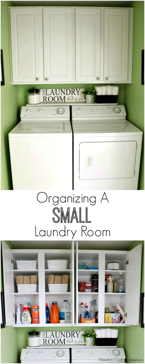 Organizing Laundry Room Cabinets 17 Best Ideas About Organizing Small Homes On Small Space Organization Storage