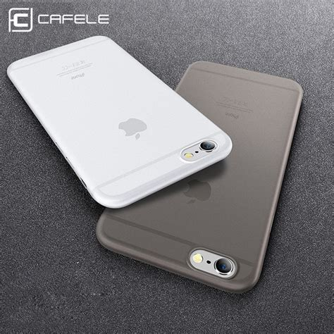 original cafele phone for iphone 6 6s plus cases micro scrub 6 colors pp cover for apple