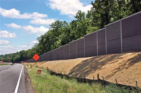 backyard sound barriers precast concrete soundwalls highway sound barriers
