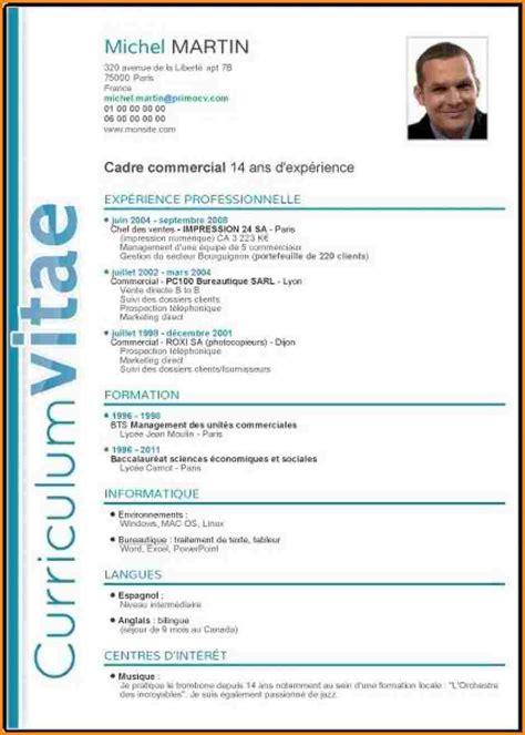 Cv En Francais Modele by Cv Francais Exemple Starterre Isuzu