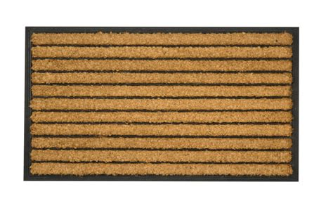 Rubber Door Mats Outside by Hardwearing Traditional Striped Outdoor Door Mat 30 Quot X 17
