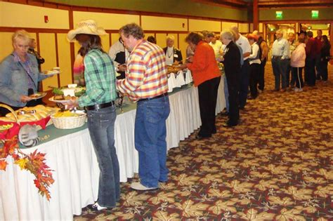 the line new year buffet photos from successful hoedown appalachian rescue