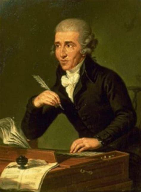 Tabellarischer Lebenslauf Joseph Haydn Klassika Joseph Haydn 1732 1809 Lebenslauf