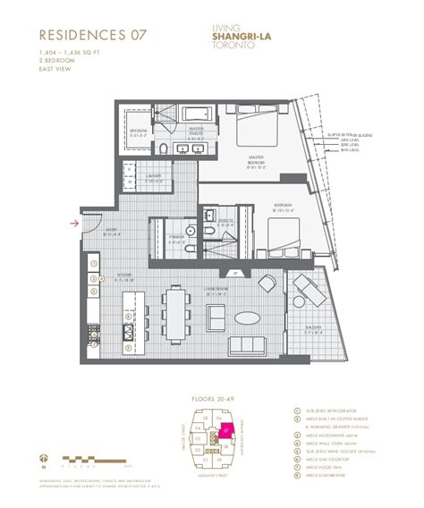 toronto floor plans living shangri la toronto 180 university ave toronto