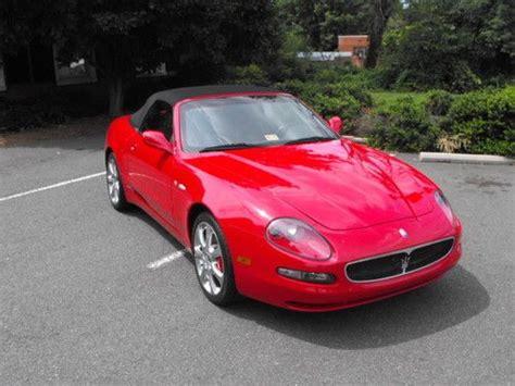 2004 maserati spyder gt find used 2004 maserati spyder gt convertible 2 door 4 2l