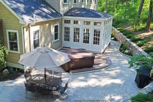Backyard Sunroom by Enclosures Archadeck Custom Decks Patios Sunrooms And