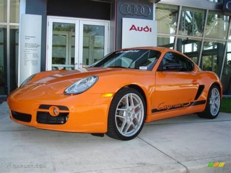 porsche cayman orange 2008 orange porsche cayman s sport 15455030 gtcarlot