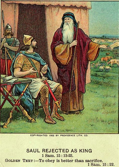 To Be The King Ori Reject file saul rejected as king bible card jpg wikimedia commons