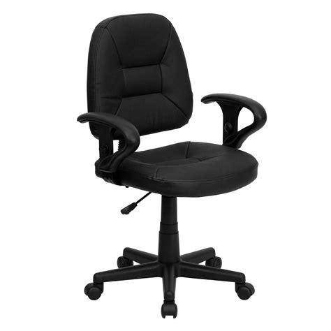 flash furniture ergonomic leather desk chair reviews wayfair