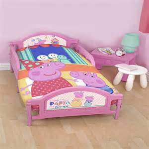 Toddler Bedding Sets Peppa Pig Peppa Pig Toddler Bedding Funfair