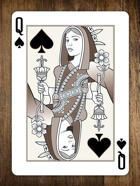 queen of spades origins playing cards