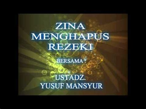 download mp3 adzan yusuf mansyur download ustadz yusuf mansyur zina menghapus rezeki mp3