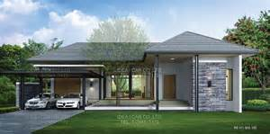 1 Story Homes Contemporary Single Story House Modern House