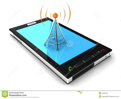 stock mobili mobile connection stock illustration image of green
