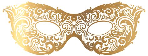 Masker Gold the gallery for gt gold masquerade masks clip
