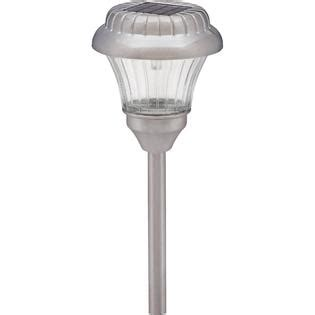 malibu solar light intermatic malibu metal solar lights pewter 10 pack