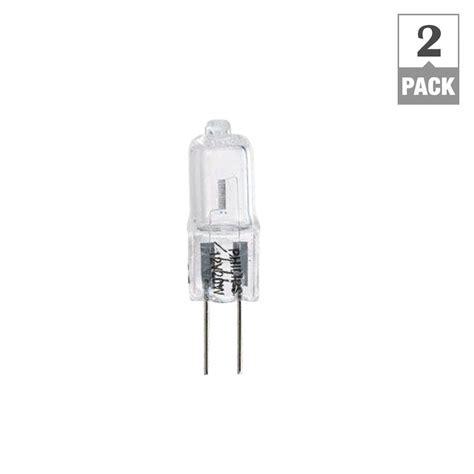 Kitchen Cabinet Lighting Options Philips 20 Watt Halogen T3 12 Volt G4 Capsule Dimmable