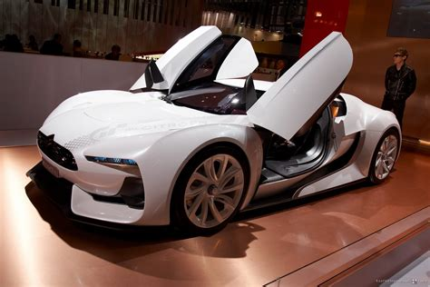 citroen concept new cars models citroen gt concept sports car