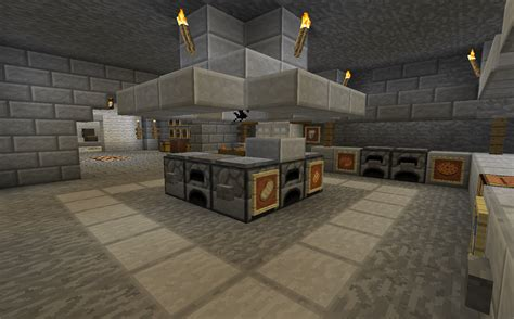 kitchen minecraft minecraft projects minecraft kitchen with functional