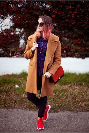 Camel Gray Purple 253 zara oversized coat how to wear and where to buy chictopia