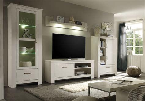 anbauwand modern wohnzimmer deko bilder