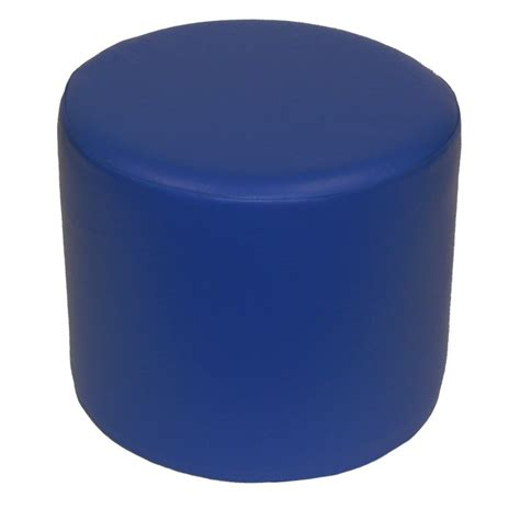 blue round ottoman office furniture hire elite ottoman round blue