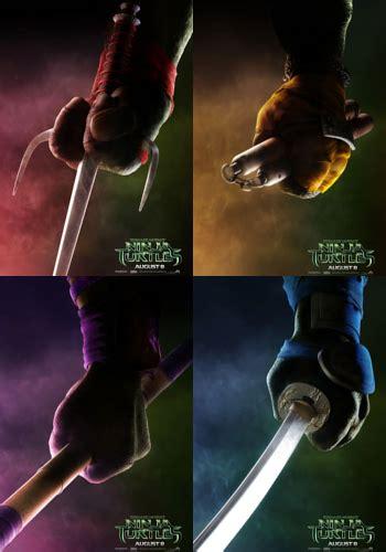 film ninja yang hot intip poster karakter unik kura kura ninja di film ninja